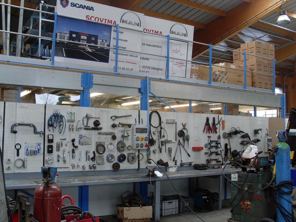 Scovima valognes manche location ventes garage poids lourd for Location garage reparation voiture